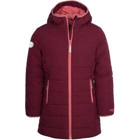 TROLLKIDS Stavanger Płaszcz Dziewczynki, czerwony